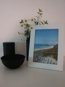 Sommerdeko - Mein Schreibtisch